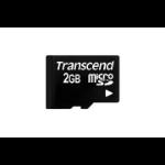 Transcend microSD Flash Card 2GB