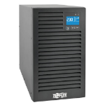 Tripp Lite SUINT3000XLCD SmartOnline 230V 3kVA 2700W On-Line Double-Conversion UPS, Tower, Extended Run, Network Card Options, LCD, USB, DB9