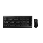 CHERRY Stream Desktop keyboard RF Wireless QWERTY UK English Black