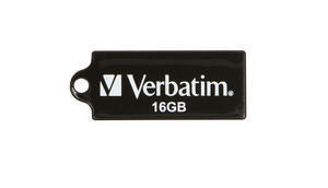 Verbatim Micro USB Drive 16GB - Black USB flash drive 2.0 USB Type-A connector