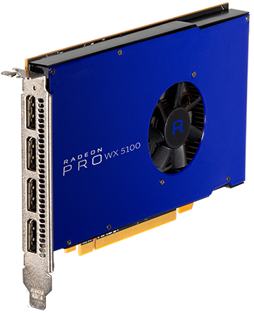 AMD RADEON PRO WX 5100 8 GB GDDR5