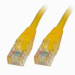Generic 3m Yellow Cat5e UTP Patch / Straight Networking Cable