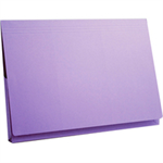 Guildhall L POCKET WALLET 14 X 10 MAUVE