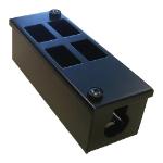 Cablenet 4 Way POD Box Vertical 2 x 2 Rows LJ6C 56mm Deep 25mm Entry