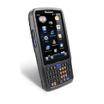 "Honeywell CN51 4"" 480 x 800pixels Touchscreen 350g Black handheld mobile computer"