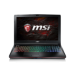"MSI Gaming GE62 7RE(Apache Pro)-027UK 2.8GHz i7-7700HQ 15.6"" 1920 x 1080pixels Black Notebook"