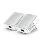 TP-LINK TL-PA4010KIT PowerLine network adapter 600 Mbit/s Ethernet LAN White 2 pcs