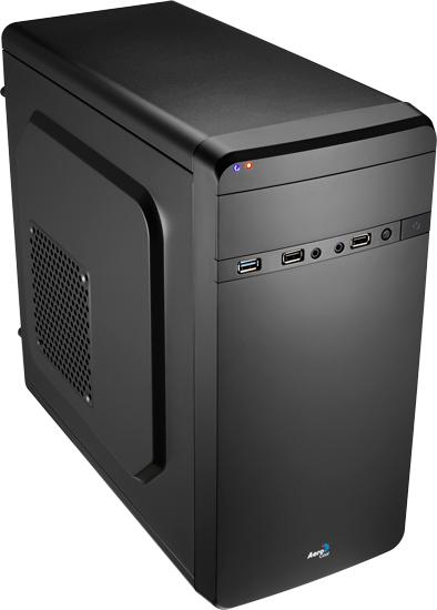 Case Qs 180 En52919 Micro-ATX Black