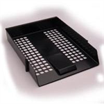 White Box WB LETTER TRAY BLACK
