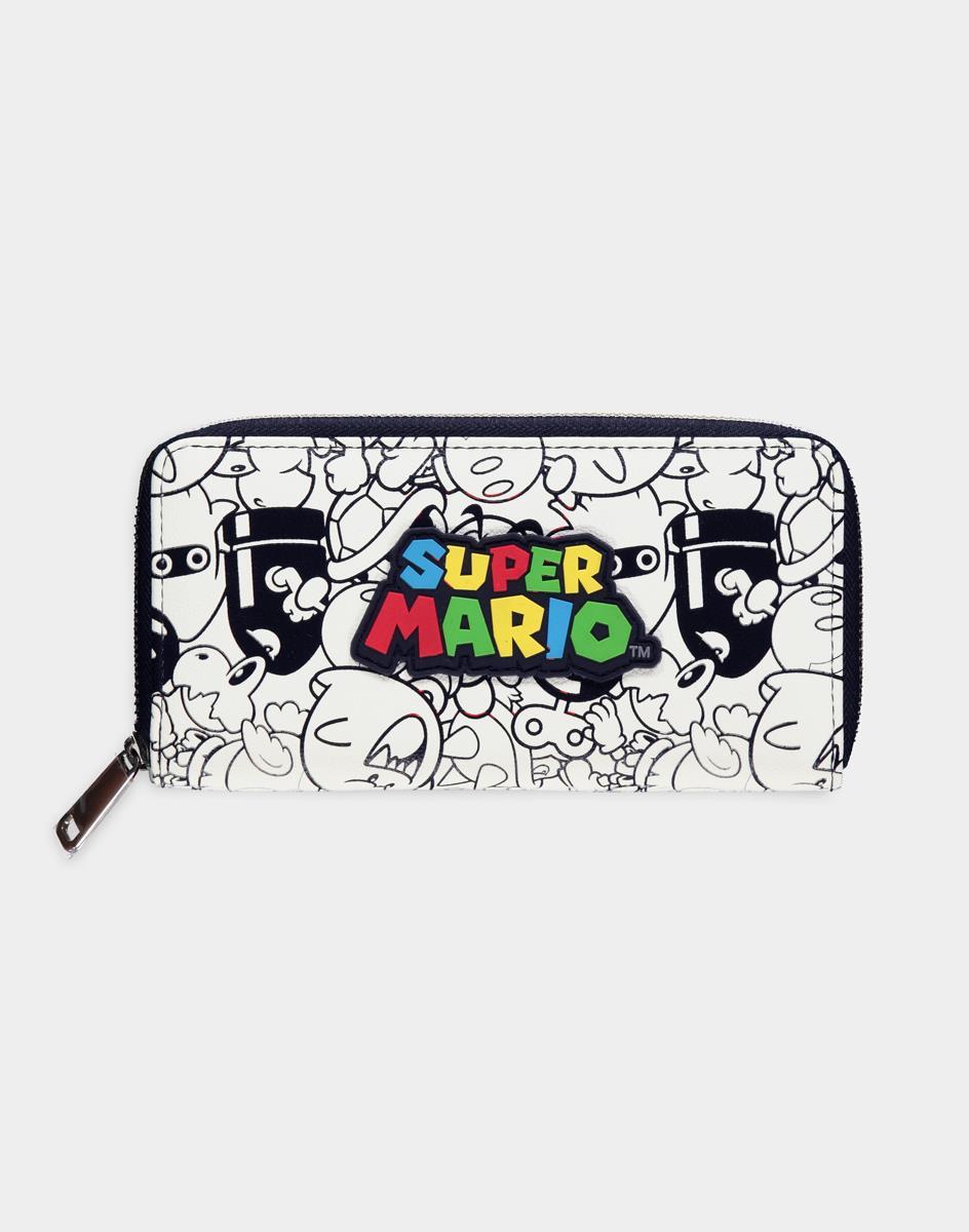 Nintendo Super Mario Logo wallet Female Multicolor