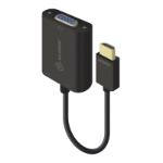ALOGIC 15cm HDMI to VGA Adapter With 3.5mm Audio - Male to Female (Full HD -1920 X 1080)