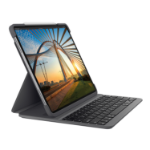 Logitech Slim Folio Pro teclado para móvil AZERTY Francés Grafito Bluetooth