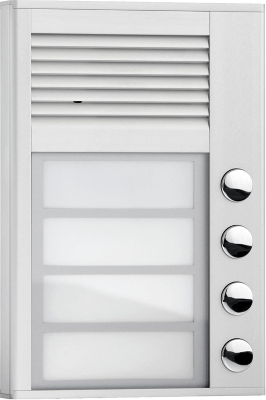Interquartz ID204 audio intercom system Silver