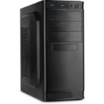 Inter-Tech IT-5905 Midi-Tower Black