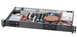 Case 1u Cse-510-t200b Black 200w