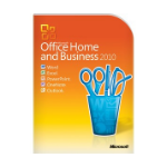 HP Microsoft Office Home & Business 2010, PSG, FRE French