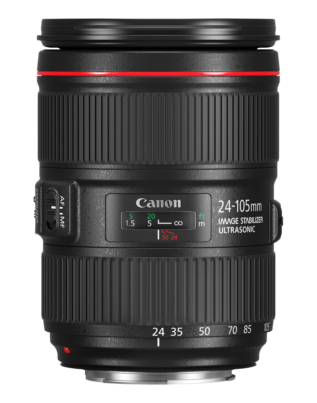 Canon EF 24-105mm f/4L IS II USM SLR Objetivo de zoom estándar Negro