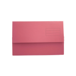 Exacompta Value Document Wallet Foolscap Red PK50