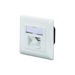 Digitus DN-9007-S-1 socket-outlet 2 x RJ-45 White