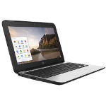 "HP Chromebook 11 G4 2.16GHz N2840 11.6"" 1366 x 768pixels Black,Silver"