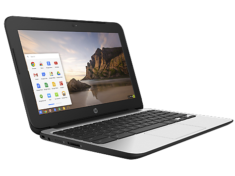 "HP Chromebook 11 G4 2.16GHz N2840 11.6"" 1366 x 768pixels Black,Silver"