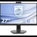 "Philips B Line 272B7QUBHEB/00 computer monitor 68,6 cm (27"") 2560 x 1440 Pixels Quad HD LCD Flat Mat Zwart"