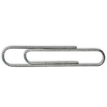 Whitecroft Essentials Value Paperclip Giant Serrated PK100