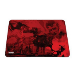 Ozone Trace XL Black,Red mouse pad