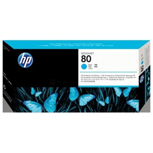 HP C4821A (80) Printhead cyan, 2.5K pages, 17ml