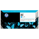 HP C4821A (80) Printhead cyan, 2.5K pages, 17ml