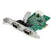 StarTech.com Tarjeta PCI Express Serie de 2 Puertos RS232 UART 16950 - con Caché FIFO de 256 bytes - Chipset ASX99100 - con Bracket de Tamaño Completo - Reemplazo del PEX2S952 (PEX2S953)