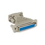 Black Box FA521A-R4 cable gender changer DB9 DB25 Grey