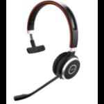 Jabra Evolve 65 MS Mono Headset Head-band Bluetooth Black