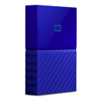 Western Digital My Passport 2000GB Blue external hard drive