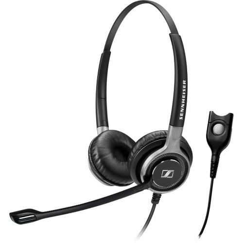 Sennheiser SC 668 Binaural Head-band Black headset