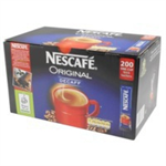 Nescafé Original Instant Coffee Granules Decaffeinated Stick Sachets Ref 12138013 [Pack 200]
