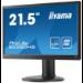 "iiyama ProLite B2280HS-B1 54.61cm (21.5"") Full HD LED 1920 x 1080 5ms 250 cd/m2 1000:1 VGA"