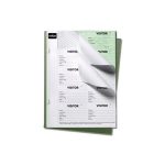 Nobo Visitor Badge Book Black, 25 sheets