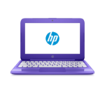 HP Stream 11-y006na 3RN77EA#ABU Cel N3060 2GB 32GB 11.6IN Win 10 Home Purple, Violet