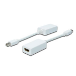 ASSMANN Electronic AK-340411-001-W video kabel adapter 0,15 m Mini DisplayPort HDMI Wit