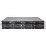 Supermicro CSE-826BE2C-R920LPB Rack 920W Black,Stainless steel computer case