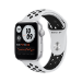 Apple Watch SE Nike OLED 44 mm Plata GPS (satélite)