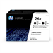 HP CF226XD (26X) Toner black, 9K pages, Pack qty 2