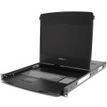 "StarTech.com RKCOND1701FR 17"" 1920 x 1080pixels Steel Black rack console"