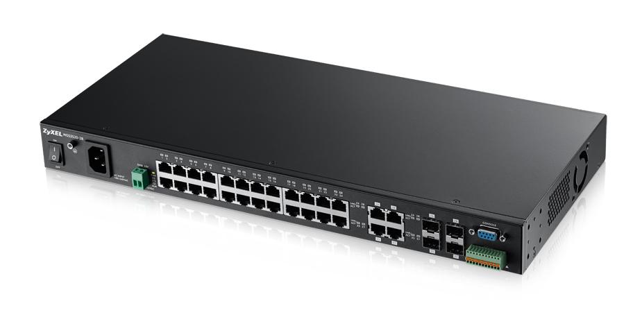 Zyxel MGS3520-28 Managed L2 Gigabit Ethernet (10/100/1000) Black