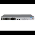 Hewlett Packard Enterprise 1420-24G-2SFP Unmanaged L2 Gigabit Ethernet (10/100/1000) 1U Grey