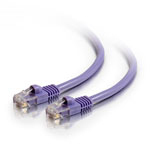 C2G 5m Cat5e 350MHz Snagless Patch Cable 5m Purple networking cable