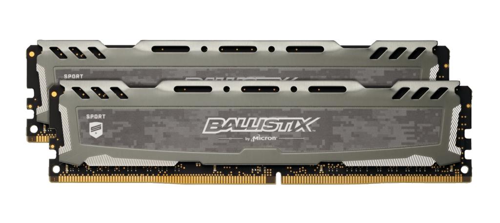 Crucial Ballistix Sport LT memory module 16 GB DDR4 3000 MHz