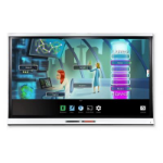 SMART Board 6365 interactive display with AM50 iQ and Intel Core M3 and SMART Learning Suite