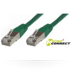 Microconnect 25m Cat.5e 25m Cat5e F/UTP (FTP) Green networking cable